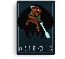 Metroid - Samus Canvas Print