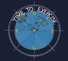 Time To Exercise 2 by kjadesign
