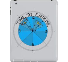 Time To Exercise iPad Case/Skin