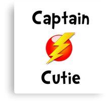 Captain Cutie Canvas Print