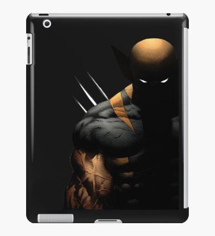 dark wolverine iPad Case/Skin