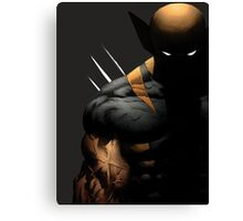 dark wolverine Canvas Print