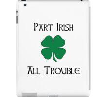 Part Irish iPad Case/Skin