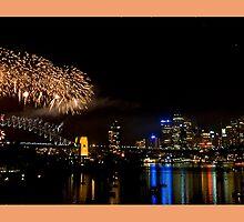 Firework 2009 Sydney  by Stefan Seibold