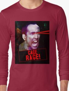 Nicolas Cage Rage! Long Sleeve T-Shirt