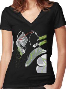 Bane Women's Fitted V-Neck T-Shirt