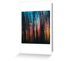Sparkling Winter Garden Greeting Card