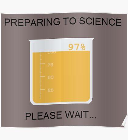 Preparing to Science Poster