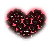 I Love Chocolate Photographic Print