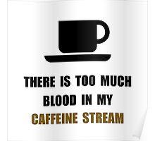 Caffeine Stream Poster
