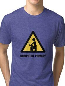 Computer Privacy Tri-blend T-Shirt