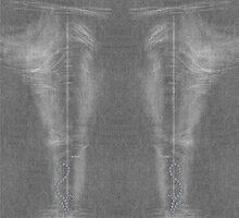 Diamond Flourish Faded Black Denim Jeans by andabelart