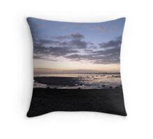 Pre-Dawn Dunsborough Beach Throw Pillow