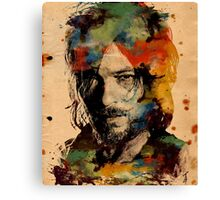 Watercolor Daryl Canvas Print