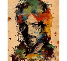 Watercolor Daryl Photographic Print