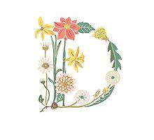 Botanical Letter D by dgarden
