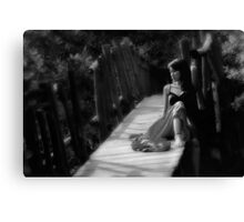 just try... Canvas Print
