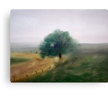 Tree Back Country Canvas Print