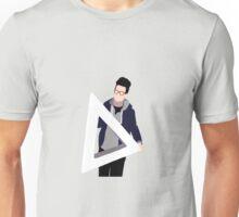 Transparent Triangle Dan Unisex T-Shirt