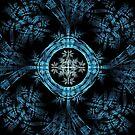 In Blue by Sandy Keeton