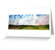Open Plains Greeting Card