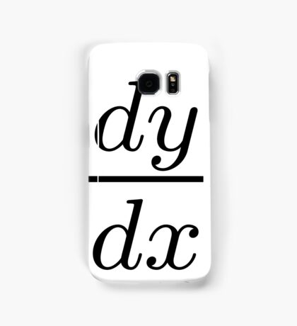 Derivative Calculus Samsung Galaxy Case/Skin