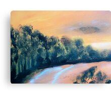 Sun Drinched Coast Canvas Print
