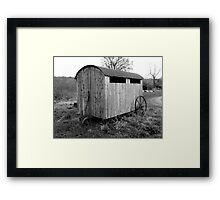 Mobile Home for Chickens Framed Print