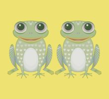 Happy Twin Frogs Kids Clothes