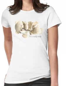 I'm a Cuddly Baby Womens Fitted T-Shirt