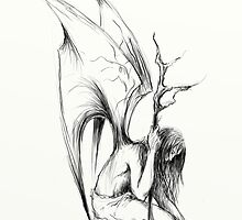 Tired angel by Grzegorz