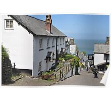 Clovelly 'High' Street  Poster