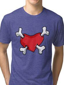 Boney Heart Tri-blend T-Shirt