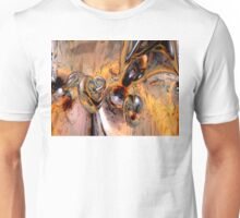 Abstract Ring Connections Unisex T-Shirt