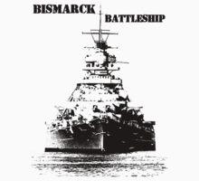 Bismarck Battleship Kids Tee
