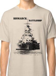 Bismarck Battleship Classic T-Shirt