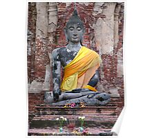 Ancient Buddha Poster