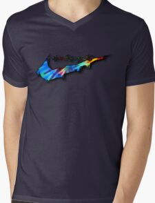Tie-Die Sneak Mens V-Neck T-Shirt