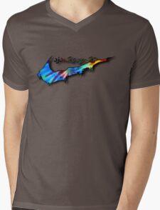Tie-Die Sneak Mens V-Neck T-Shirt