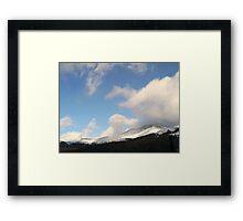 Parry Peak Framed Print