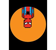 8Bit Spiderman Photographic Print