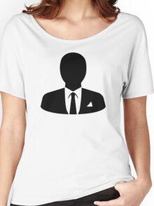 Business man Women's Relaxed Fit T-Shirt