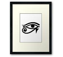 Horus Eye Framed Print