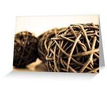 Tightly Wound Greeting Card