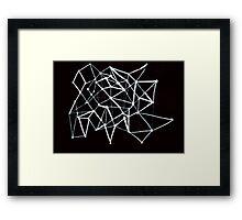 Luck constellation Framed Print