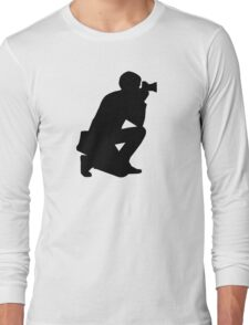 Photographer camera Long Sleeve T-Shirt