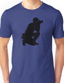Photographer camera Unisex T-Shirt
