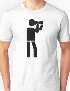 Photographer logo Unisex T-Shirt