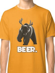 Beer! The Alcoholic Bear Deer Classic T-Shirt