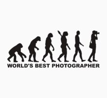 Evolution World's Best Photographer Kids Clothes